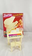 Vintage 1981 Barbie Electronic Grand Piano Sound Music with Box- Tested Working
