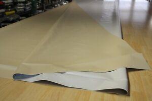 2,65€/m² Plane Abdeckplane PVCHolzplane B-Ware 710gr/m² h.grau-beige 3,00m/5,10m