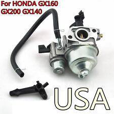 Parts For Honda Generator Carburetor Carb For Gx160 Gx168 5.5hp 6.5hp Engine