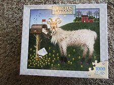 """Charles Wysocki's  """"Goatmeal"""" 1000 Piece Jigsaw Puzzle"""