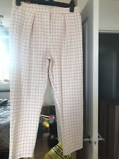 checked trousers 14