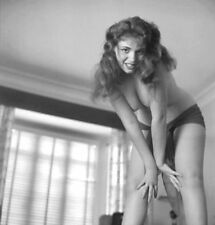 Vintage Nude Pin Up Girl Photo Bizarre Odd Freaky Strange