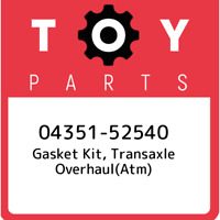 04351-52540 Toyota Gasket kit, transaxle overhaul(atm) 0435152540, New Genuine O