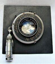 Kodak Wollensak 127mm f/4.7 Camera Lens Graflex Graphic Supermatic 4x5 #324860