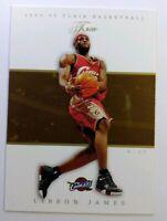 2004 04-05 Fleer Flair LeBron James #35, 2nd year, Cleveland Cavaliers