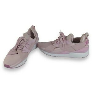 Womens Muse satin II Sneakers Pale Purple Orchid Trainers Style 368427 03