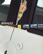 "RENAULT Twingo ""Tintin"" edition - 09/2001 - Belgian sales catalogue, prospekte"