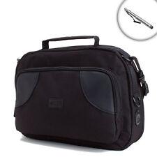 Portable Tablet Headrest Mount Case with Adjustable Strap and Storage Pocket