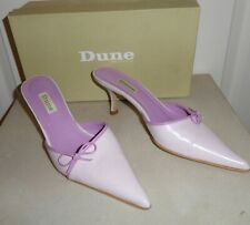 "DUNE MAUVE PINK "" VALLEY BOWPIPES SHOES, size 6 ,39 WORN ONCE"
