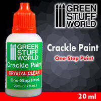 Crystal Clear CRACKLE Paint 20ml - 1 Step - Transparency and weathered effects