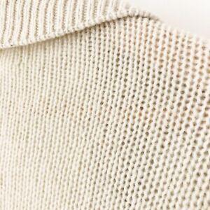 "DKNY PURE M/L Wool Chunky Knit 41"" Long Duster Cardigan Ivory Hong Kong $445"