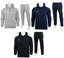 New Mens Nike CLUB Tracksuit-Fleece Hooded Top Jogging Bottoms Joggers S M L XL