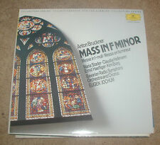 Anton Brukner Mass In F Minor Deutsche Gramophon LP West German Issue