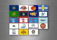 Aufkleber sticker bundesstaat lander flagge flaggen stempel fahne griechenland