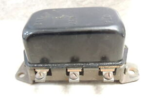 NOS AutoLite VBO-4223-F Voltage Regulator 12 Volts 1962-64 Rambler, Studebaker