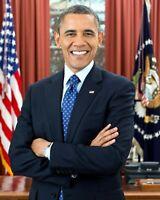 President Barack Obama Obama Portrait 8 x 10 Photo Picture Democrat Liberal