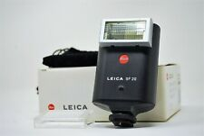 DHL✈【N MINT】Leica SF 20 Shoe Mount Flash for Leica M TTL Black in BOX from JAPAN