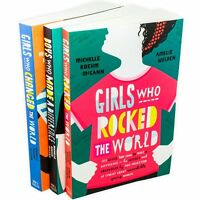 Michelle Rowhm McCann 3 Book Collection Girls Who Rocked The World