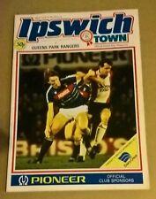 ipswich town v queens park rangers 21/1/1985