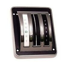 NEW 1969-1970 Ford Mustang Shift Cover Auto Transmission Chrome Bezel and Seal