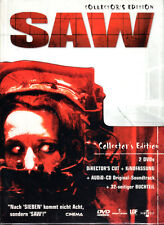 Saw 1 , 2 Disc , strong limited Mediabook Edition , uncut / r-rated , new