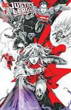 JUSTICE LEAGUE 1 KAEL NGU CMS B&W SPOT COLOR VARIANT 2018 NM