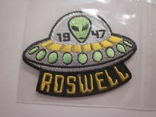 "ROSWELL 1947 UFO ALIEN IRON ON PATCH AREA 51 SOUVENIR ""1"" PATCH COLLECTIBLE #37"