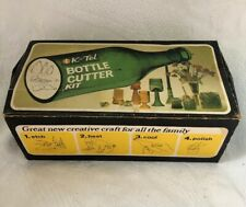 Vintage 1973 K-Tel Bottle Cutter Kit Winnipeg Canada Montreal London England
