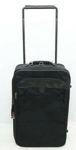 Hartmann 23 x 15 Black Ballistic Nylon Travel Rolling Luggage Suitcase