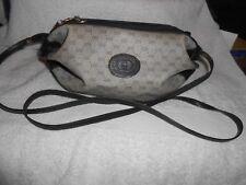 GUCCI Crossbody vintage Bag Authentic GG Logo Handbag Auth Italy Monogram Purse