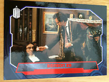 Topps Doctor Who 2015 Red Parallel 191 Base Card Season 26 25/50