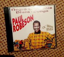 Negro Spirituals, Blues Songs Ol' Man River - Paul Robeson