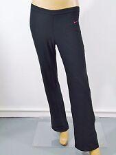 Nike Dri Fit Black Sports Active Yoga Pants Sz S Straight Leg Knee Ties