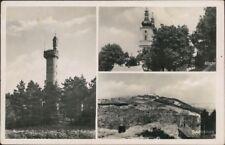 Jägerndorf Krnov (Krnów / Karniów) Aussichtswarte, Stadt und Kirche 1934