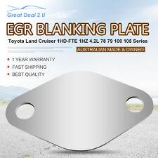 EGR Blanking Plate for Toyota Landcruiser 100 78 79 105 1HDFTE 4.2L Turbo Diesel