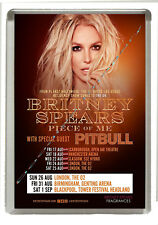 Britney Spears - Piece of Me -   2018 Tour Dates - Fridge Magnet 90 mm x 60 mm