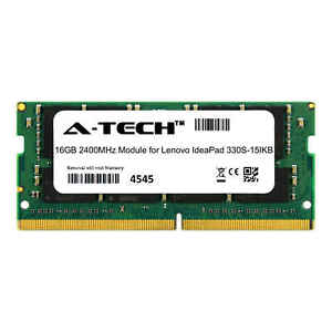 A-Tech 16GB 2400MHz DDR4 RAM for Lenovo IdeaPad 330S-15IKB Laptop Memory Upgrade