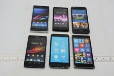 LOT OF 6 FAKE DUMMY PHONES - FOR DISPLAY, PROPS, TOYS, RETAIL ETC (LOT10)