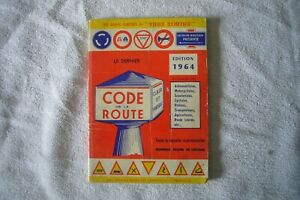 CODE DE LA ROUTE 1964  EDITIONS EGE