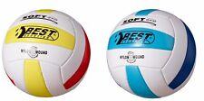 Best Sporting Volleyball Soft Pro Größe 5, weiß/gelb/rot oder weiß/hellblau/blau