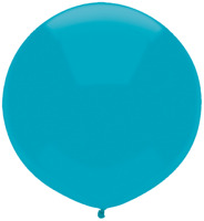 """LATEX 17""""(43CM) ISLAND BLUE PACK OF 50 QUALATEX BALLOONS PARTY SUPPLIES"""
