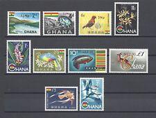 More details for ghana 1967 sg 445/54 mnh cat £32