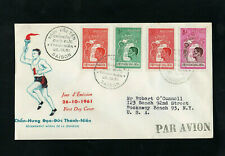 VIETNAM - 1961 - YOUTH MORAL REARMAMENT - FIRST DAY COVER - WITH SAIGON CDS