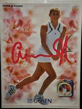 ANNA KOURNIKOVA Gosen String Tennis Poster Vintage (226)