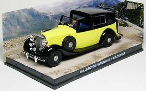 ROLLS ROYCE PHANTOM III 1937 JAMES BOND 007 GOLDFINGER 1/43 UNIVERSAL HOBBIES