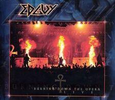 Edguy - Burning Down the Opera Live (CD, Sep-2005, 2 Discs, Locomotive Records)