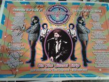 Wishbone Ash handsigned concert poster