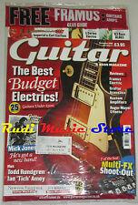 Rivista GUITAR & BASS MAGAZINE SEALED Nov. 2008 Mick Jones Roger Mayer No cd dvd