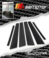 Real Carbon Fiber B Door Trim Pillar Panel Decal Covers for 01-06 Lexus LS430