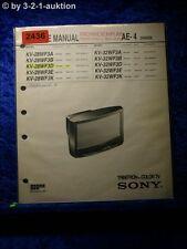 Sony Service Manual KV 28WF3D /A /B /E /K / 32WF3D (#2436)